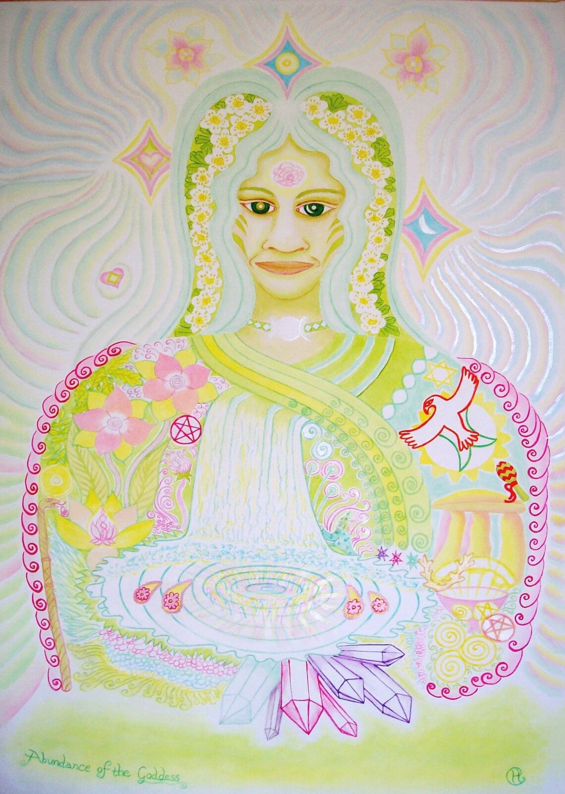 abundance of the goddess
